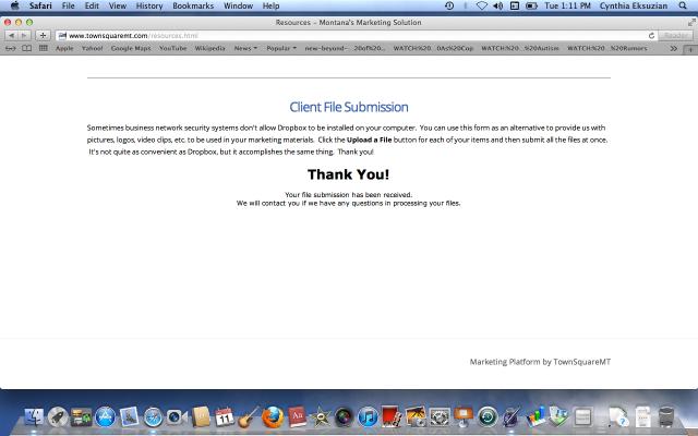 TownSquareMT file submission.
